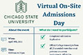 Virtual On-Site Admissions Day for Transfer Students