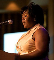 Virgina Hayes at the CSU 18th Awards Gala
