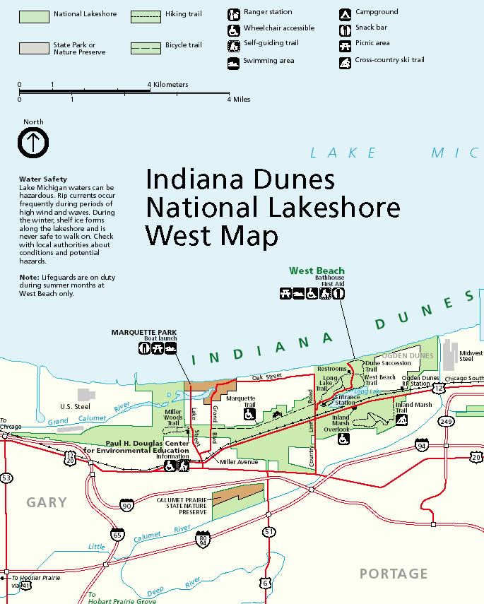 Maps Calumet Environmental Resource Center Chicago State - Map of state of indiana