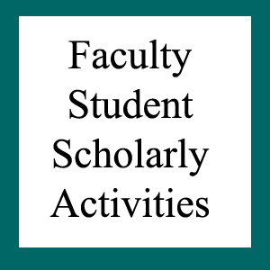 Faculty Students Scholarship Activities