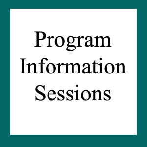 Program Information Sessions