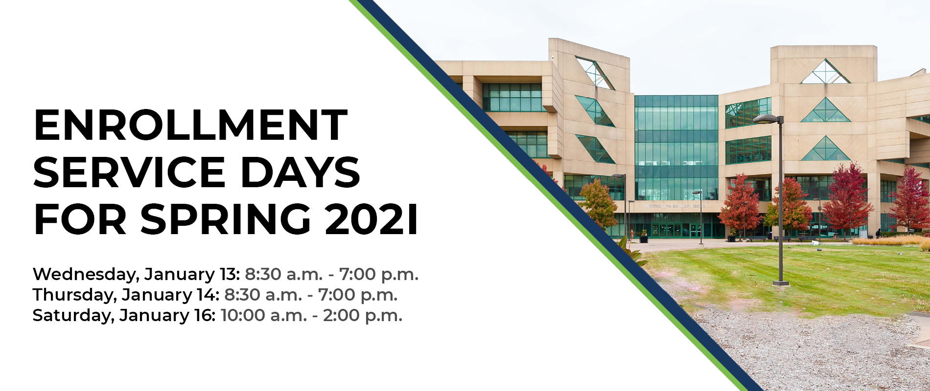 Enrollment Service Days Banner