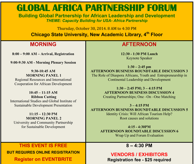 Global Africa Partnership Forum