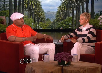 LL Cool J and CSU on Ellen Show