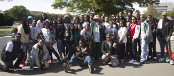 CSU Students at Million Man March