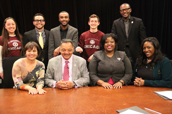 SGA President Featured on Rev. Jackson's Broadcast