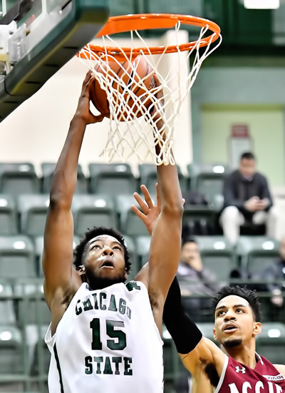 CSU's Palmer Selected for Dark Horse Dunker Competition